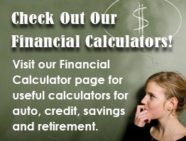 Check out our financial calculators